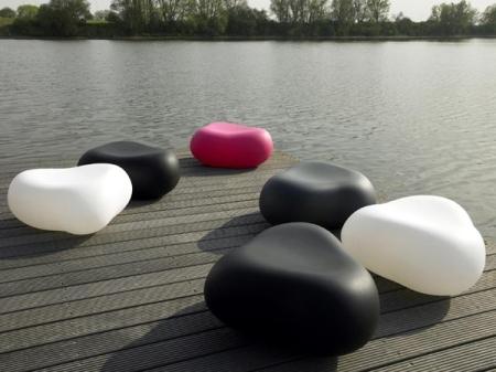 Le pouf pebble de Karim Rachid